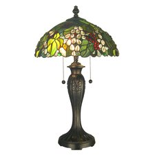 <strong>Dale Tiffany</strong> Tioga 2 Light Table Lamp