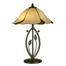 <strong>Dale Tiffany</strong> San Antonio 2 Light Table Lamp