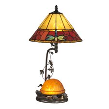 <strong>Dale Tiffany</strong> Turtle 2 Light Table Lamp