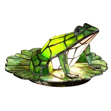 <strong>Dale Tiffany</strong> Tiffany Frog Lily Pad 1 Light Table Lamp