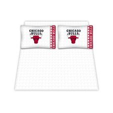 NBA Chicago Bulls Microfiber Sheet Set