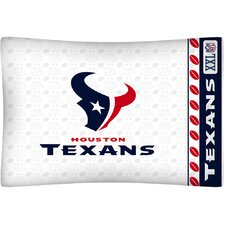 NFL Micro Fiber Pillow Case Logo