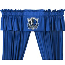 NBA Rod Pocket Valance