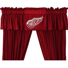 "NHL Detroit Red Wings 88"" Curtain Valance"