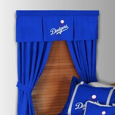 MLB Rod Pocket Drape Single Panel