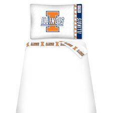<strong>Sports Coverage Inc.</strong> NCAA Micro Fiber Sheet Set