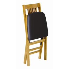 <strong>Stakmore Company, Inc.</strong> True Mission Wood Folding Chair (Set of 2)