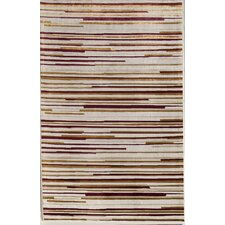 <strong>Rugs America</strong> Ambrose Cream Stripes Rug