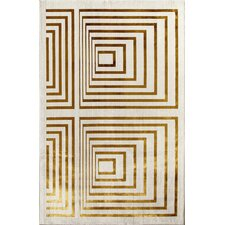Ambrose Gold Illusion Rug