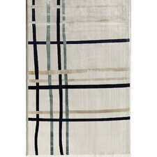 Ambrose White Threads Rug