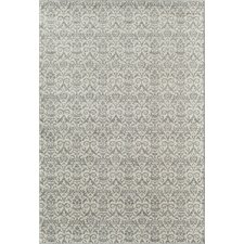 Aspen Gray/Ivory White Wash Rug