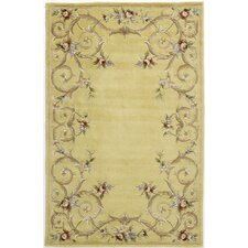 Flora Sutton Gold Rug