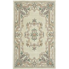New Aubusson Ivory Rug