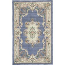 <strong>Rugs America</strong> New Aubusson Light Blue Rug