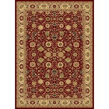 New Vision Cherry Tabriz Rug