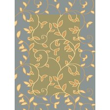Torino Light Green Vineyard Rug