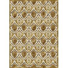Salerno Gold Panel Rug