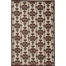 <strong>Rugs America</strong> Salerno Red Ikat Rug