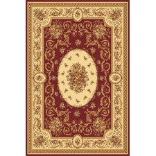 Sorrento Red Medallion Rug