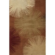 Torino Fireworks Red Area Rug