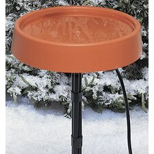"12"" Heated Bird Bath with Stand"