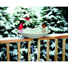 <strong>Allied Precision Industries</strong> Deck Mount Heated Bird Bath