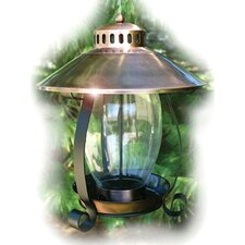 Coppertop Lantern Decorative Bird Feeder