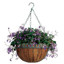 Queen Anne Round Hanging Planter