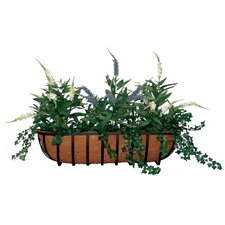 Hampton Trough Window Box Planter (Set of 6)