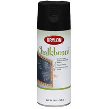 <strong>Krylon</strong> 12 Oz Black Chalkboard Spray Paint