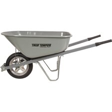6 Cubic Foot Steel Wheelbarrow