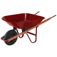 4 Cubic Foot Steel Homeowner Wheelbarrow