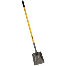 16 Gauge Steel Shovel with Fiberglass Handle
