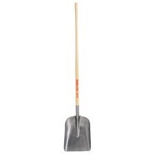 "General Purpose Steel Shovel with 48"" Ash Handle"