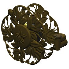 <strong>Ames</strong> Antique Bronze Decorative Swivel Wall Mount Hose Reel