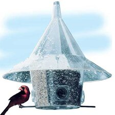 Mandarin Hopper Bird Feeder with Divider