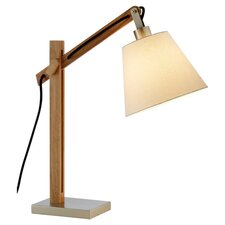"Waldorf 25"" H Table Lamp with Empire Shade"