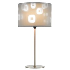 "Mystic 22"" H Table Lamp with Drum Shade"
