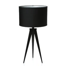 "Director 28"" H Table Lamp with Drum Shade"