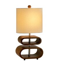 "Rhythm 19.5"" H Table Lamp with Drum Shade"