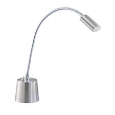 """Eternity Gooseneck 20"""" H Table Lamp with Drum Shade"""