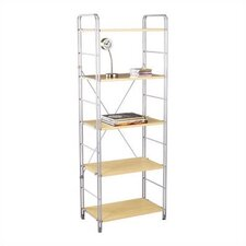 "Joy 25"" x 67"" Five Tier Shelf"