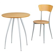 <strong>Adesso</strong> Cafe Table and Optional Chair