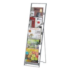 Editor 6 Pocket Tall Magazine Rack