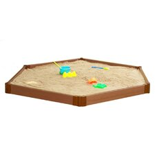 Composite 8ft. W Hexagon Sandbox Kit