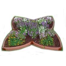Composite 4 Leaf Clover Raised Bed Garden
