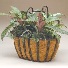 Oval Twist Basket Planter