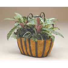 Oval Twist Basket Planter