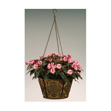 <strong>Deer Park Ironworks</strong> Hanging Basket Round Planter