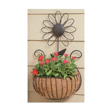 Daisy Wall Basket Planter